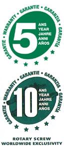 Záruka 5- 10 rokov na kompresory SULLAIR