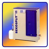 Separácia oleja z kondenzátu - štiepiace zariadenia BEKOSPLIT